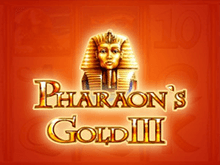 Pharaohs Gold III - аппараты клуба Вулкан